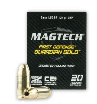 Pistolový náboj magtech 9 luger Gold Guardian