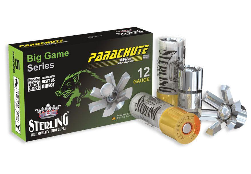 12/70 slug Parachute ocelový slug