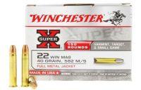 Winchester Super-X 22 WMR FMJ