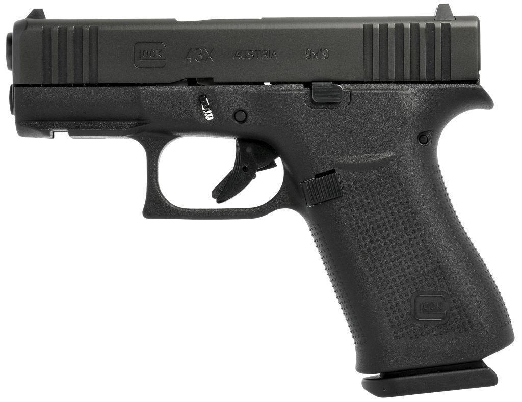 glock 43x černý s railem