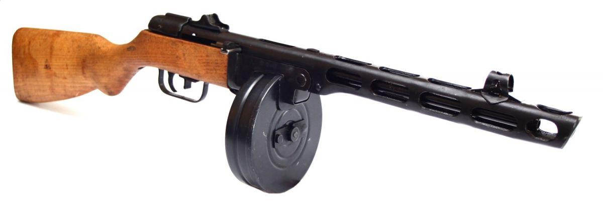 Samonabíjecí puška PPŠ-41 Špagin SSSR