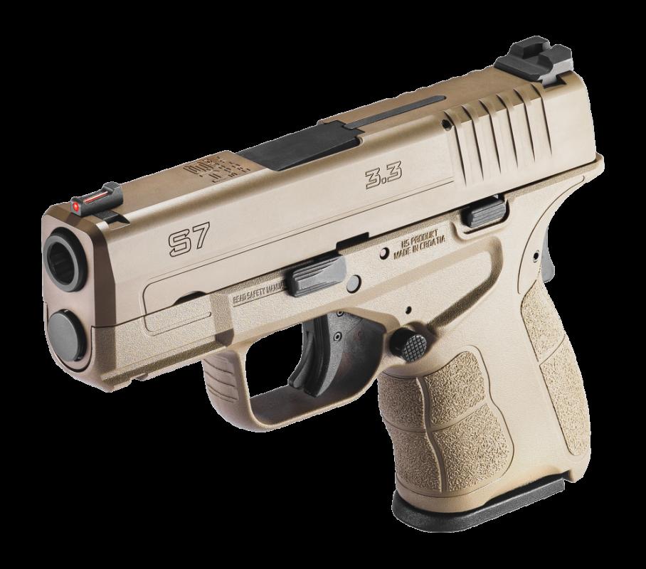 pistole HS Produkt S7 3,3″ FDE