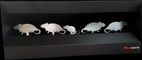 Střelnice myši 4 ks